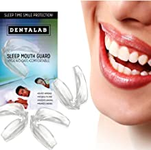 TMJ Mouth Guard Night Time for Grinding Teeth, Bruxism, And Clenching - Includes 3 Custom Fit Professional Dental Guards - Dentist Approved