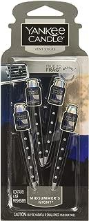 Yankee Candle Car Freshener Vent Stick Midsummers Night, 2-Packs (8 Vent Sticks)