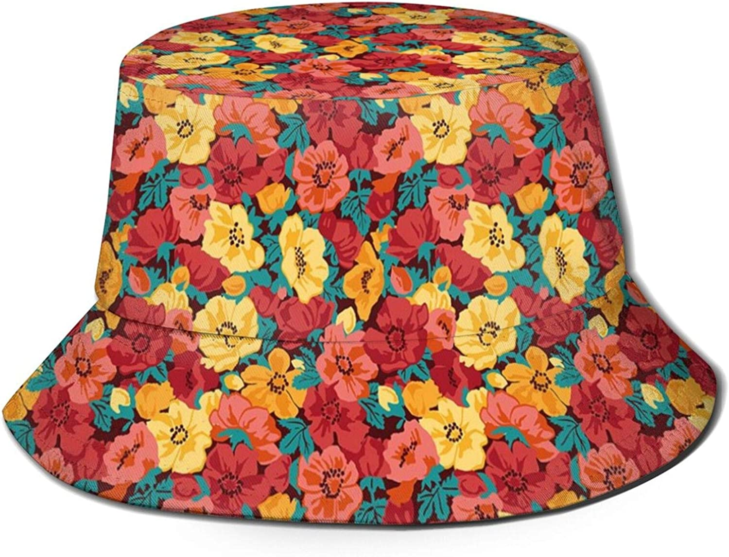Limited Max 56% OFF price Cotton Packable Summer Travel Beach Sun Bucket Hat