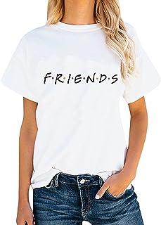 ALAPUSA Womens Casual Shirt Summer Graphic Tees Tops