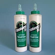 Franklin International 1414 Titebond 3 Ultimate Wood Glue, 16-Ounce (2 bottles)