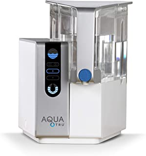 AQUA TRU Countertop Water Filtration Purification System with Exclusive 4 – Stage..