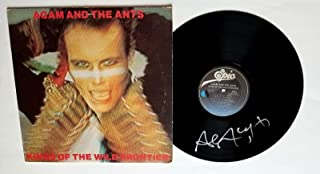 Adam Ant REAL hand SIGNED Kings Of The Wild Frontier Vinyl #1 COA The Ants