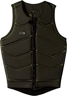 O'Neill Wetsuits Men's Hyperfreak Comp Vest, Fade Green: Lime, Large