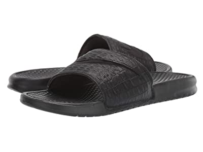 Nike Benassi JDI Croc (Black) Men