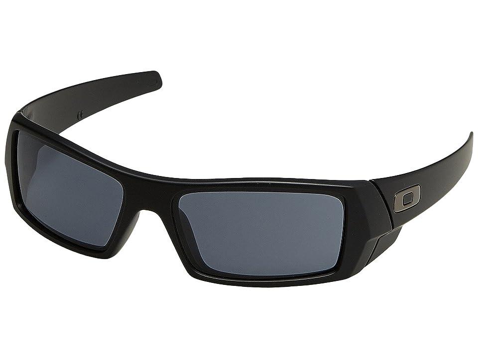 Oakley GasCan(r) (Matte Black/Grey) Sport Sunglasses