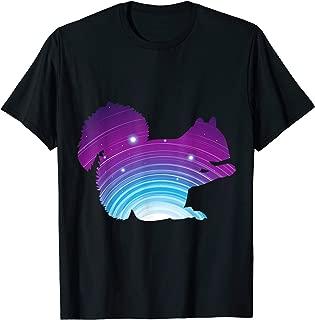 Galaxy Space Zodiac Sign Squirrel T-Shirt