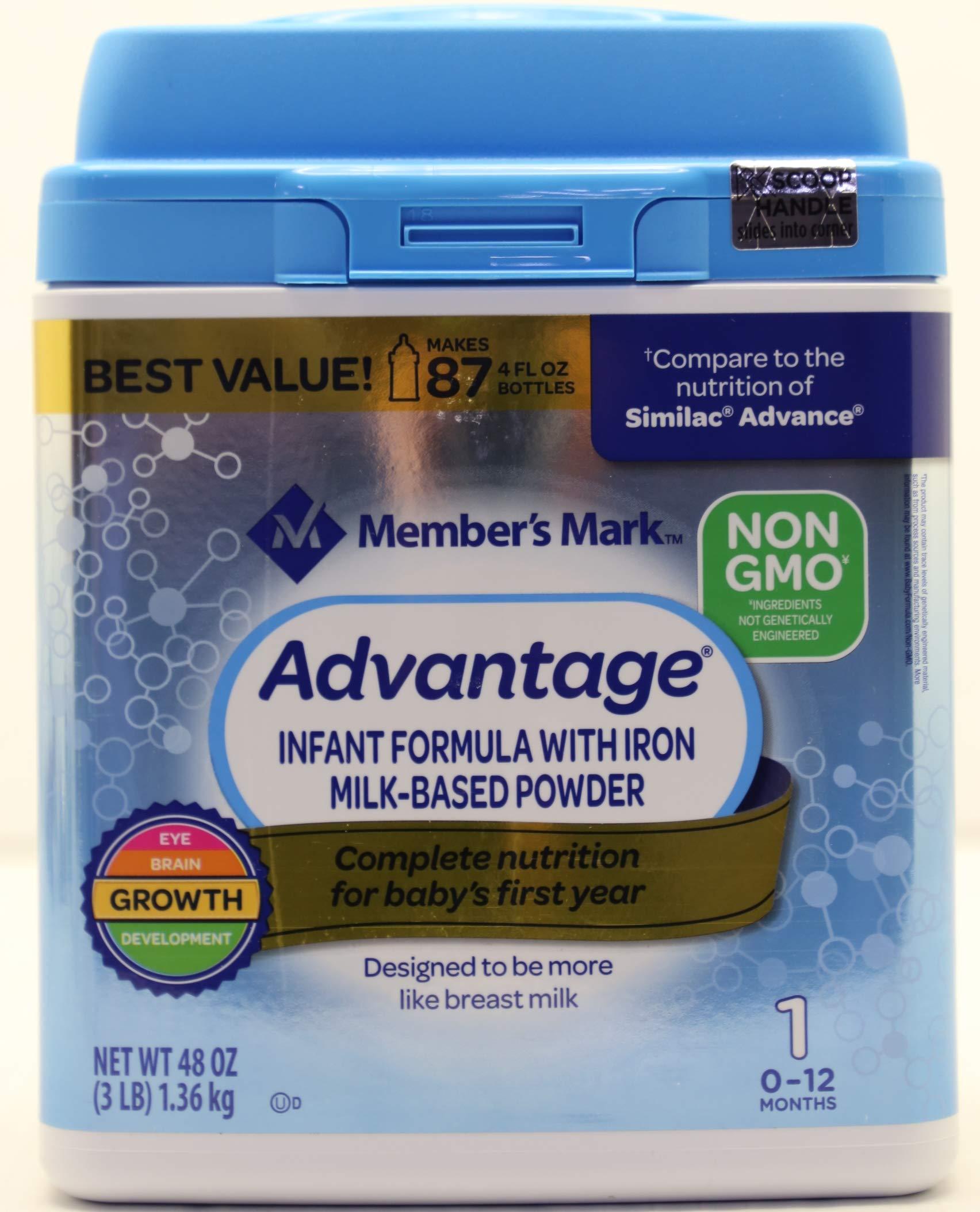 Members Mark Non GMO Formula Advantage
