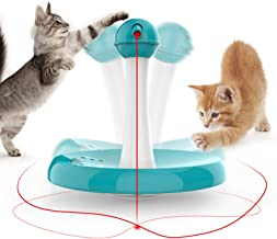 Newest Cat Laser toy,Upgraded Interactive Tumbler Laser Toys for Pet,Automatic Electronic Cats Pets Kitten Chaser Toy with...