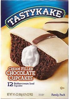 Tastykake: Buttercream Filled Chocolate Cupcakes 6/2 Packs (3 Boxes)