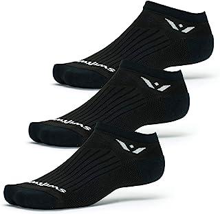 Swiftwick - PERFORMANCE ZERO (3 Pairs) Running & Golf Socks, Cushioned No-Show