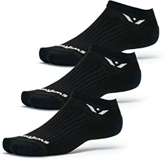 Swiftwick - PERFORMANCE ZERO 3 Pair Multi-Pack | No-Show Running and Golf Socks