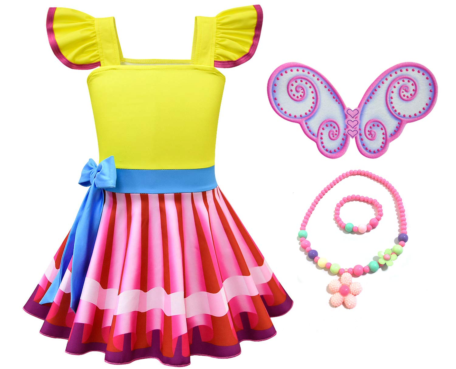 Mssmile Fancy Nancy Costume For Girls Nancy Dress Buy Online In Dominica At Dominica Desertcart Com Productid 137332052
