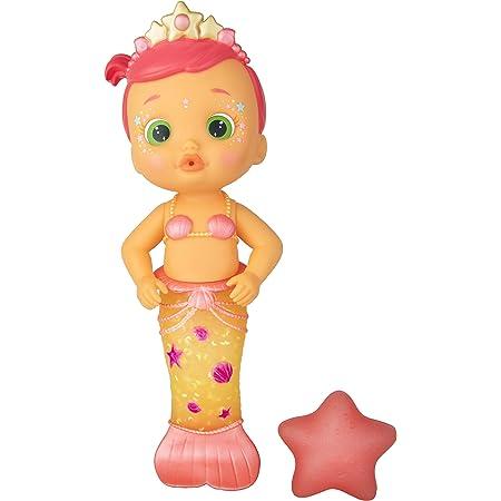 Bloopies Mermaids Sirenetta Luna, Bambola amici del Bagnetto, Coda da Sirena Cambia di Colore, Giocattolo da Bagno per Bambini
