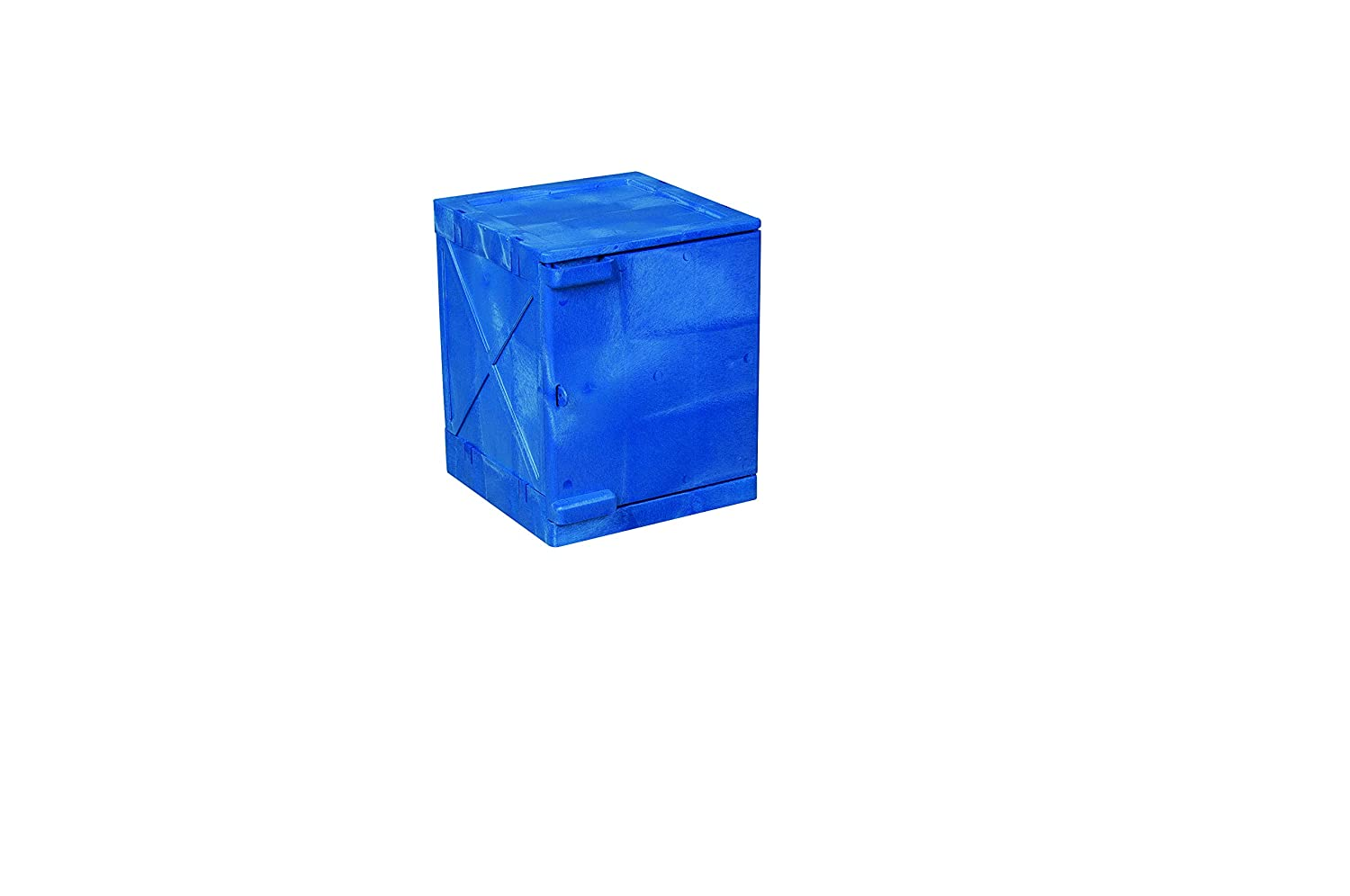 Eagle Shipping included M04CRA Bench Top Poly Cabinet Blue Indefinitely gal 4 1 Door