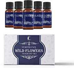 Mystic Moments Fragrant Oil Starter Pack - Wild Flowers - 5 x 10ml