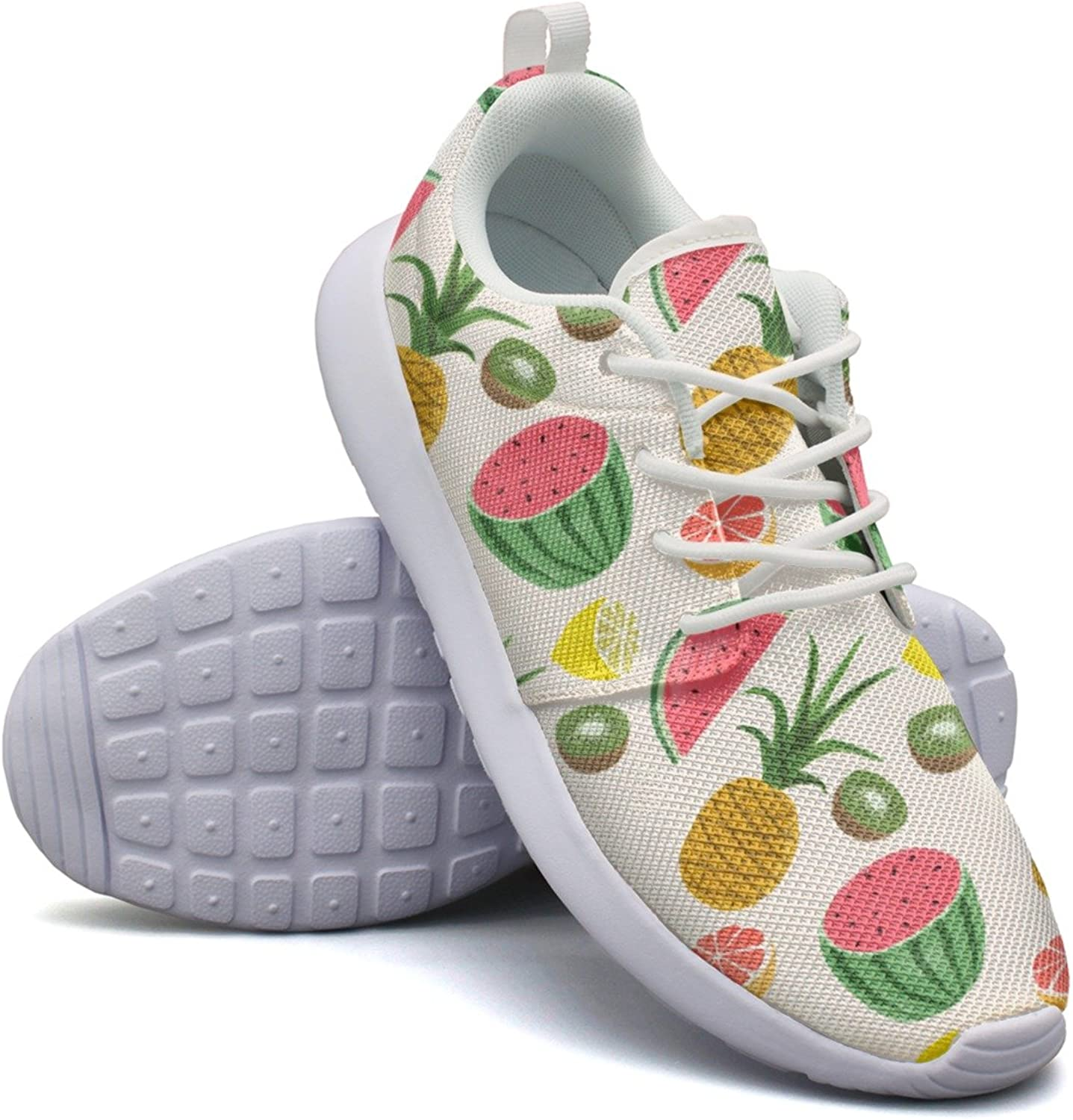 Pineapple Watermelon Some Kiwi Fruit And Lots Of Lemon Women Neutral Casual Running shoes Unique Active