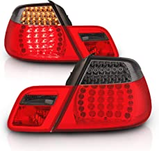 AmeriLite Convertible L.E.D Taillights Set Red/Smoke 4 Pcs for BMW 3 Series E46 - Passenger and Driver Side
