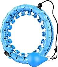 SVHK Gewogen Smart Hula Hoop, 2 in 1 buik Fitness Gewichtsverlies Massage Non-Fall Hoola Hoops, 360 Gegrees Massage Geen v...
