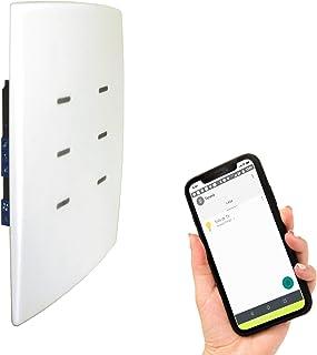Interruptor inteligente de 6 botões com Wi-Fi - TRR12 - Funciona com Alexa e Google Home