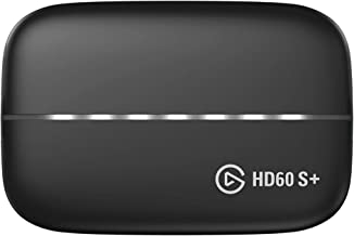 Elgato Game Capture HD60 S+ 1080p60 HDR10 Capture with 4K60 HDR10 Zero-lag passthrough, Ultra-Low Latency Technology…