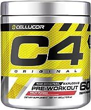 C4 Original Pre Workout Powder Fruit Punch| Vitamin C for Immune Support | Sugar Free Preworkout Energy for Men & Women |...