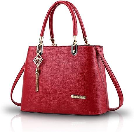 Sipobuy Monederos y bolsos de hombro para mujer Crossbody Bag Messenger Bags