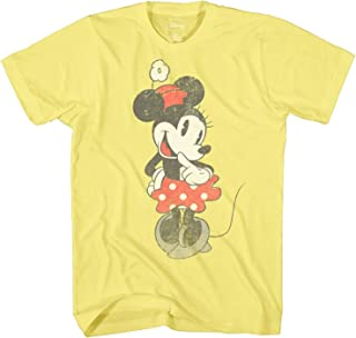 Shy Minnie Mouse Graphic Tee Classic Vintage Disneyland World Mens Adult T-Shirt Apparel