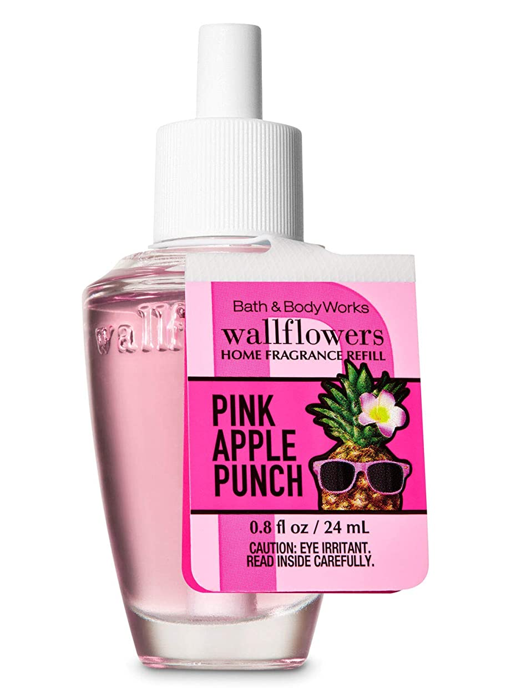 どれでも教義警戒【Bath&Body Works/バス&ボディワークス】 ルームフレグランス 詰替えリフィル ピンクアップルパンチ Wallflowers Home Fragrance Refill Pink Apple Punch [並行輸入品]
