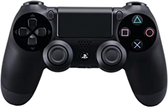 DualShock 4 Wireless Controller for PlayStation 4 - Jet Black [Old Model] (Renewed)