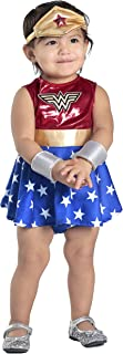 Princess Paradise Baby Girls' Wonder Woman Costume Dress and Diaper Cover Set