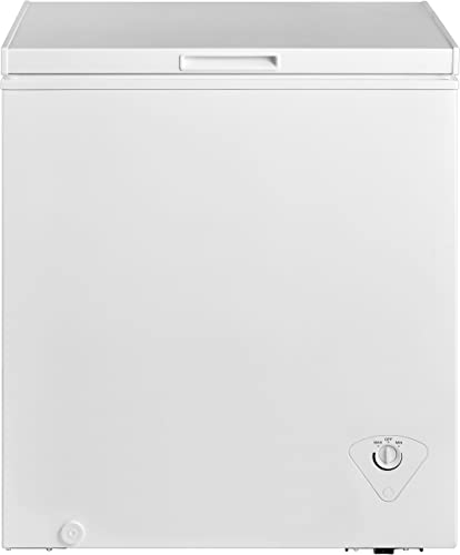 Midea-MRC050S0AWW-Chest-Freezer,-5.0-Cubic-Feet,-White