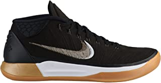 Men's Kobe AD Basketball Shoe Black/Metallic Gold/White (11.5 D(M) US)