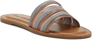 Lucky Brand Women's LALICO Slide Sandal, Latte Combo, 6 M US