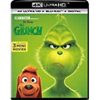 Illumination Presents: Dr. Seuss The Grinch on Blu-ray