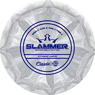Dynamic Discs Classic Soft Burst Slammer Putter Golf Disc [Colors May Vary]