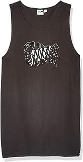 PUMA mens DOWNTOWN TANK TOP BEACH GRAPHIC T-Shirt