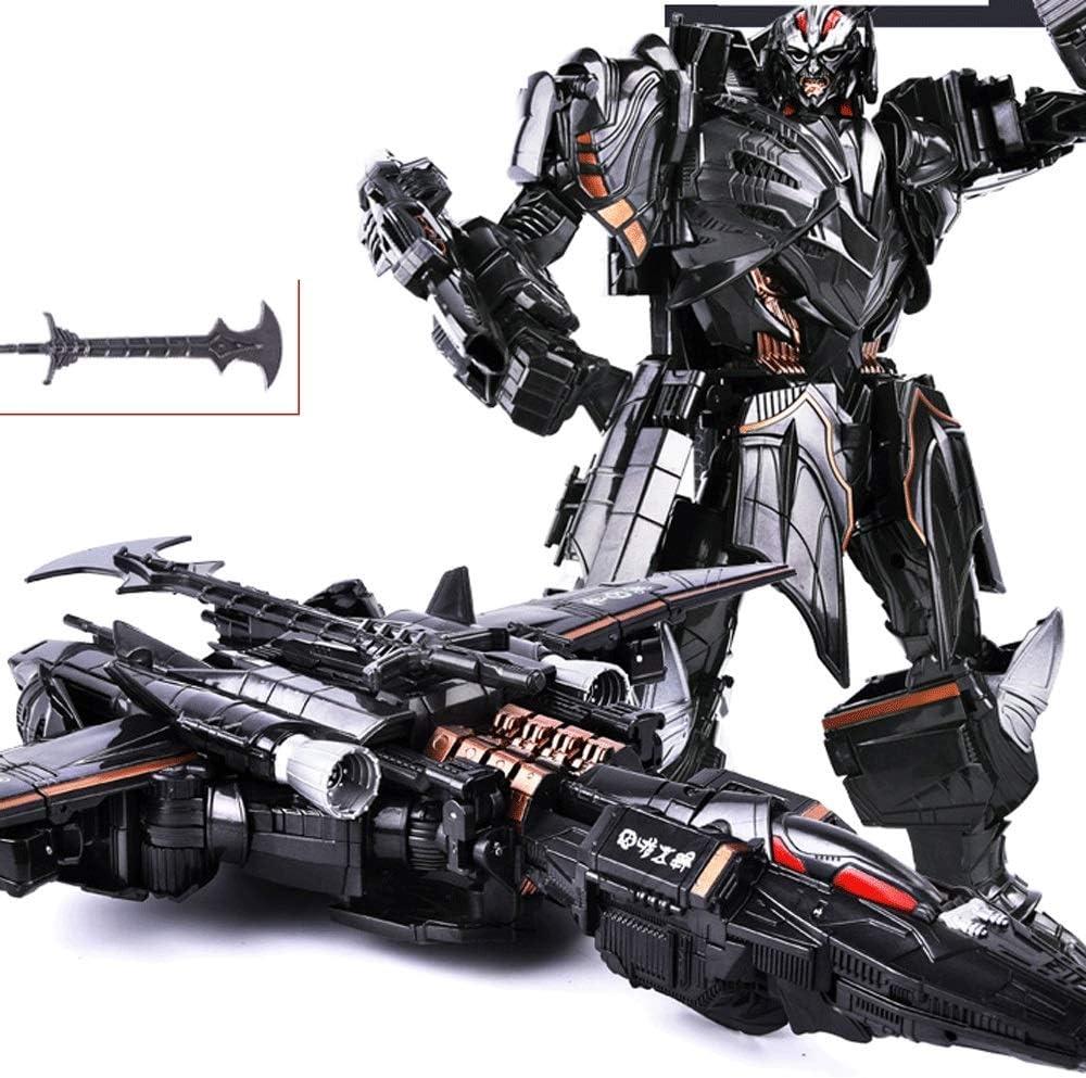 VanFty Transformers Toys-New 2021-Bumblebee, Dynasky Warrior, Megatron, Transformación Hecha a Mano Modelo de Robot King Kong para Adultos y niños, Modelo 4 Versión de aleación Robot. (Color : UN)