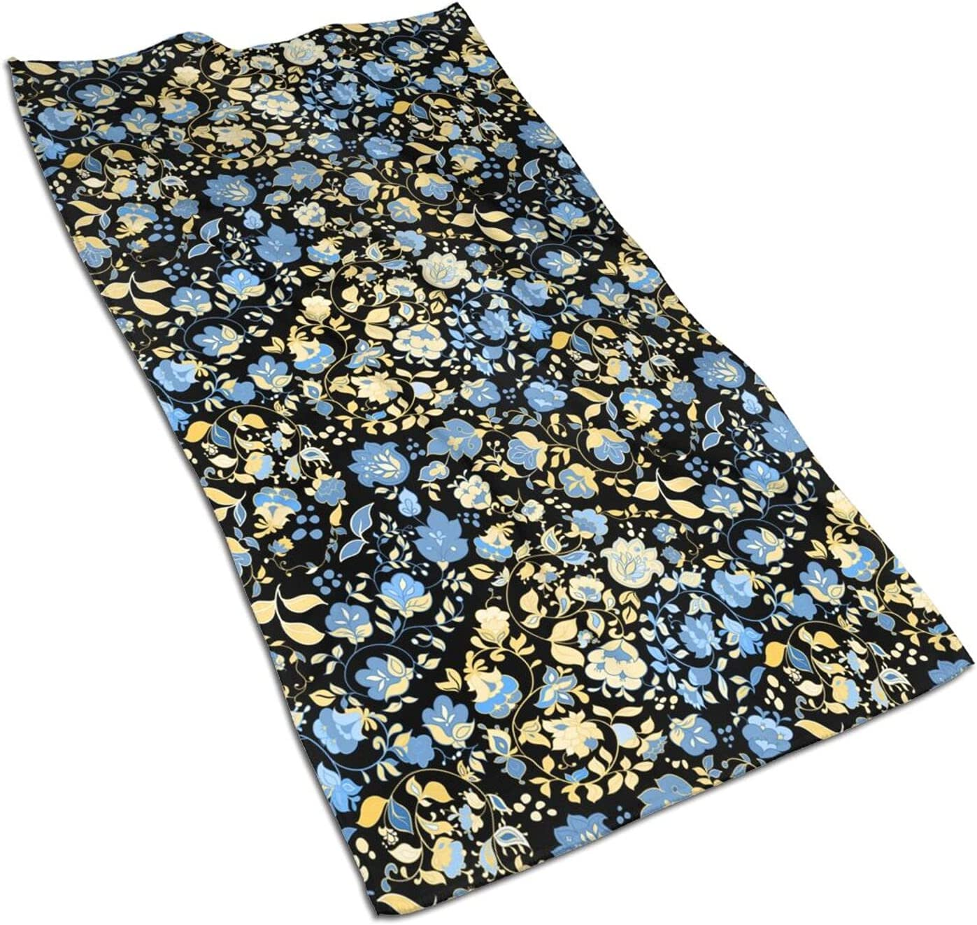 Floral Fingertip Towels Extra Some reservation Quick Towel OFFicial site Drying Face Skin-Frien