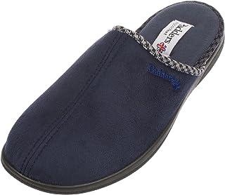 Padders Luke Wide Fitting Mens Memory Foam Mule Open Back Slippers
