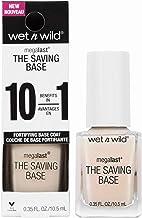 Wet n Wild Base Coat Megalast The Saving base (Never Basic) - Base para uñas – Máxima Resistencia - Tratamiento 10 en 1-1 unidad