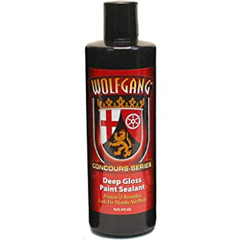 Wolfgang Concours Series WG-5500 Deep Gloss Paint Sealant 3.0, 16 fl. oz.