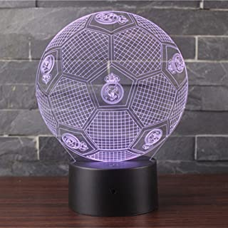 3D Illusion Night Light LED Desk Table Lamp 7 Color Touch Lamp Art Sculpture Lights Birthday