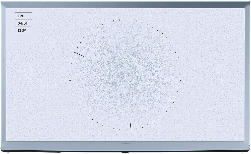 Samsung the serif qled, smart tv 55 pollici 4k ultra hd smart tv wi-fi 3840 x 2160 pixel GQ55LS01TBUXZG