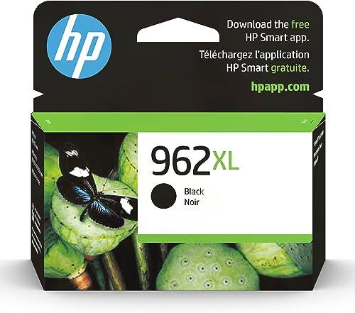 HP 962XL High Yield Black Original Ink Cartridge (3JA03AN)