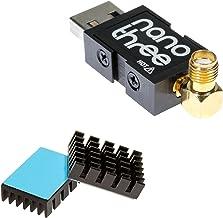 Nooelec NESDR Nano 3 - プレミアム小型RTL-SDR(アルミニウム製エンクロージャー付き)、0.5PPM TCXO、SMA&MCX入力&カスタムヒートシンク。 RTL2832UおよびR820T2ベースのソフトウェア無線