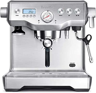 Breville BES920XL Dual Boiler Espresso Machine, Brushed Stainless Steel, 14.7 inches x 14.8 inches x 14.7 inches