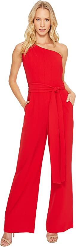 Tahari by ASL - One-Shoulder Jumpsuit