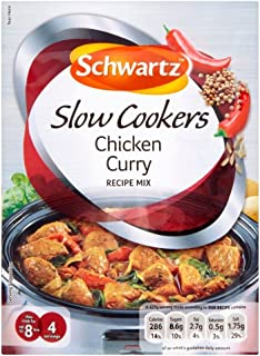 schwartz chicken curry slow cooker
