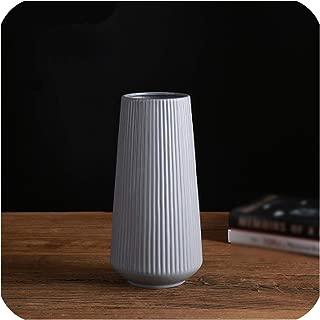 Classic Mediterranean Ceramic Vase Nordic Modern Simple Ceramic Vase Home Flower Inserter Creative Decoration,9